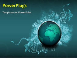 PowerPoint Template - A global background